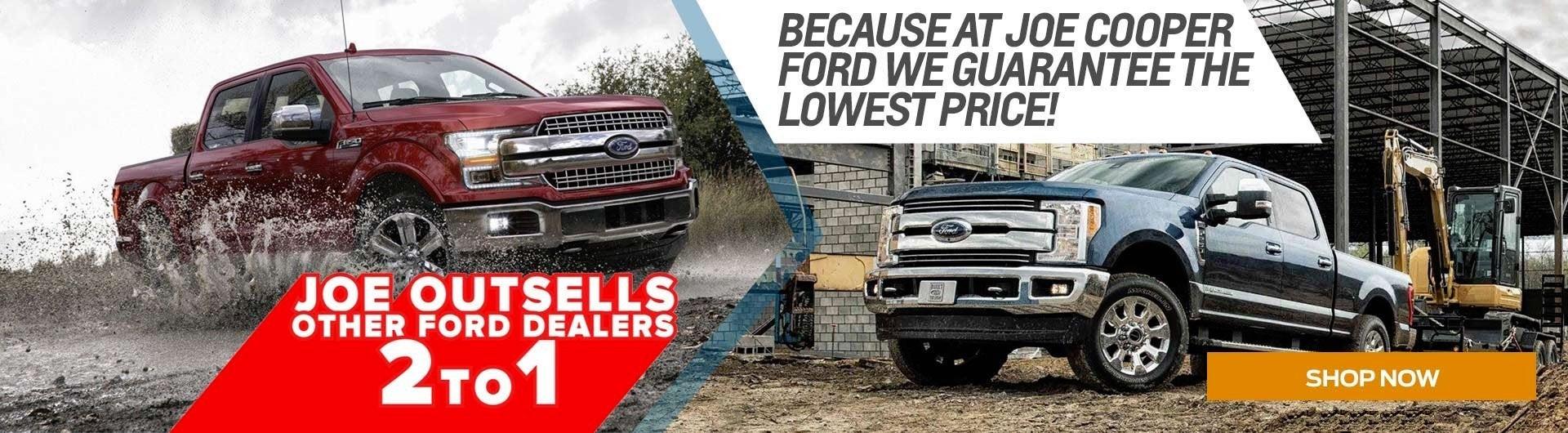 Joe Cooper Ford >> New Used Ford Dealer In Okc Near Edmond Joe Cooper Ford